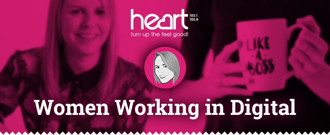 Women working in digital - Interview with Heart FM