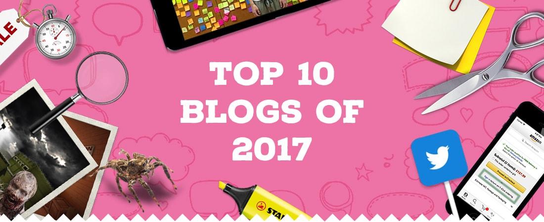 Top 10 blog posts of 2017