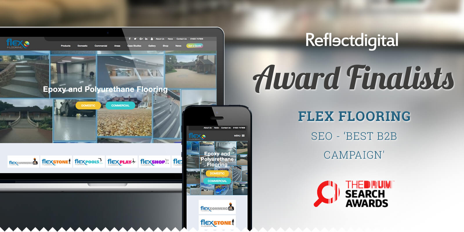 Drum Search Award Finalists - FlexFlooring