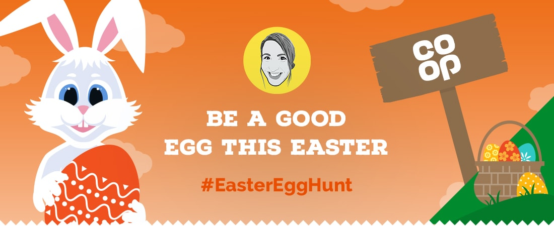 Be a good egg this Easter