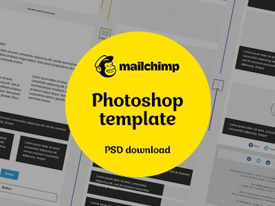 Mailchimp Photoshop Template Download