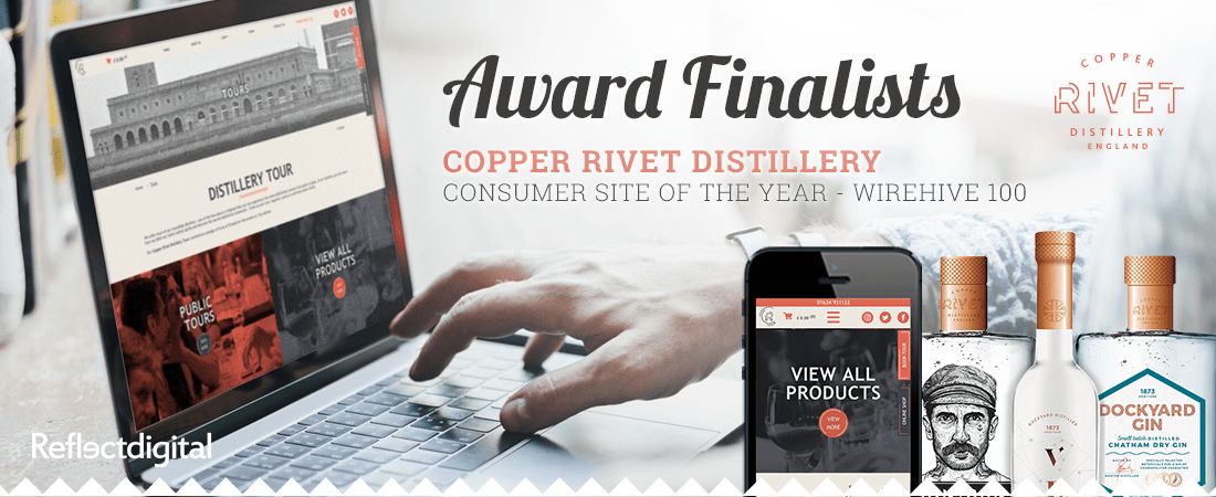 Wirehive 100 finalists 2017 - Copper Rivet