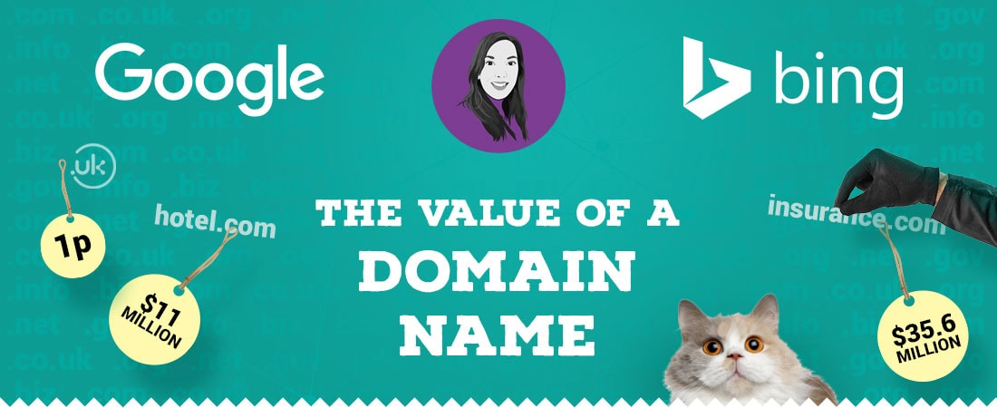 The value of a domain name