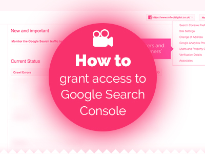 How to grant access to Google Search Console