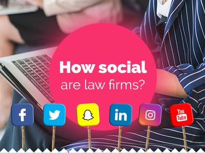 How social are law firms