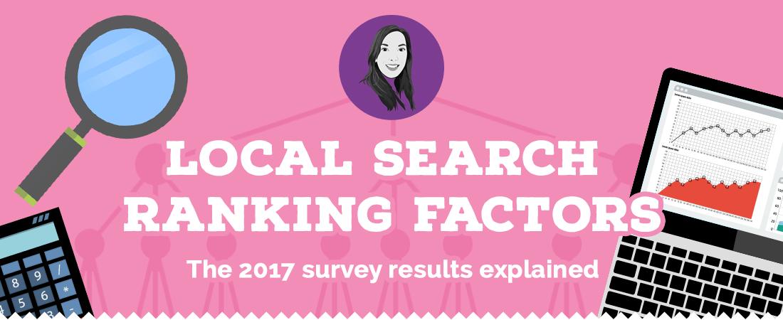 Local search ranking factors 2017