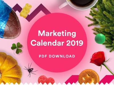 2019 Marketing Calendar