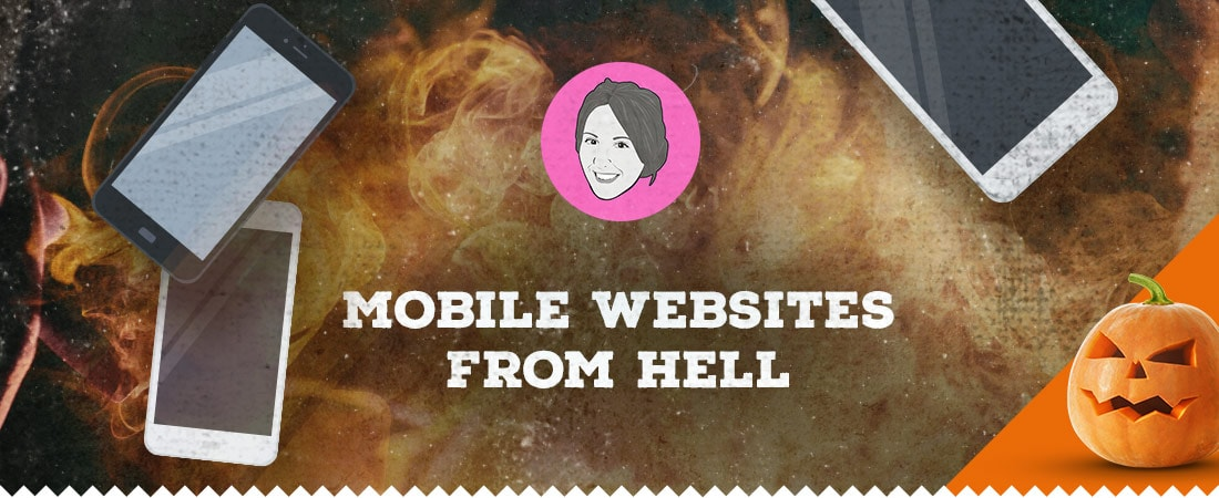 Mobile websites from hell