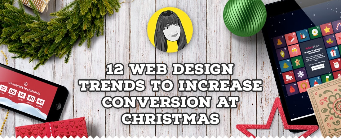 Increasing conversion at Christmas through web design