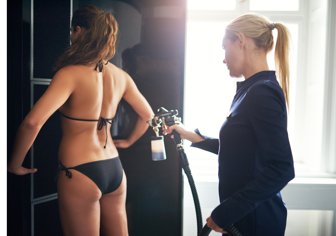 Everything you need to know about spray tanning