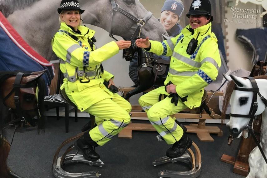 riders-on-saddle-stools