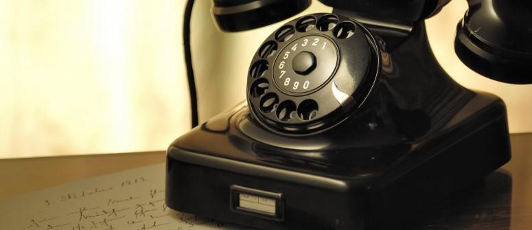 black-rotary-phone